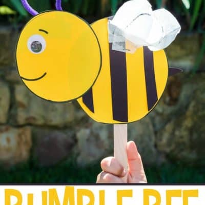 Preschool Bumble Bee Craft