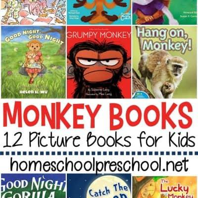 Monkey Books for Preschool
