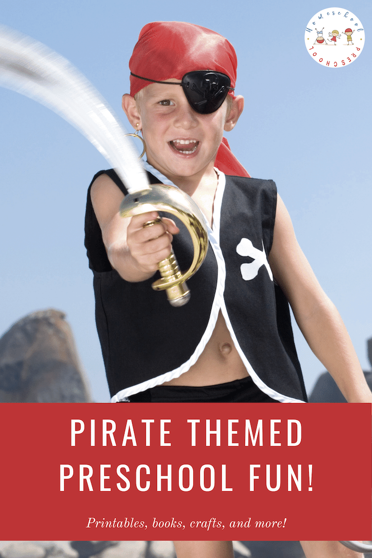 Build an awesome preschool pirate theme! Find crafts, printables, book lists, and more. Come discover some really fun ideas for little ones!