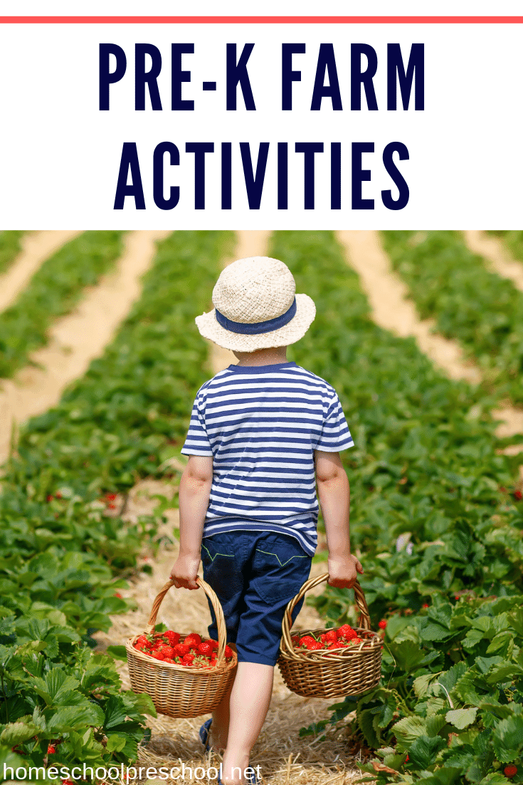 Farm activities for preschoolers! Find crafts, printables, book lists, and more. Come discover some farm-tactic ideas for little ones!