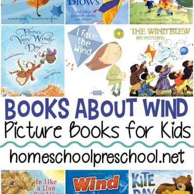Books About Wind for Preschoolers