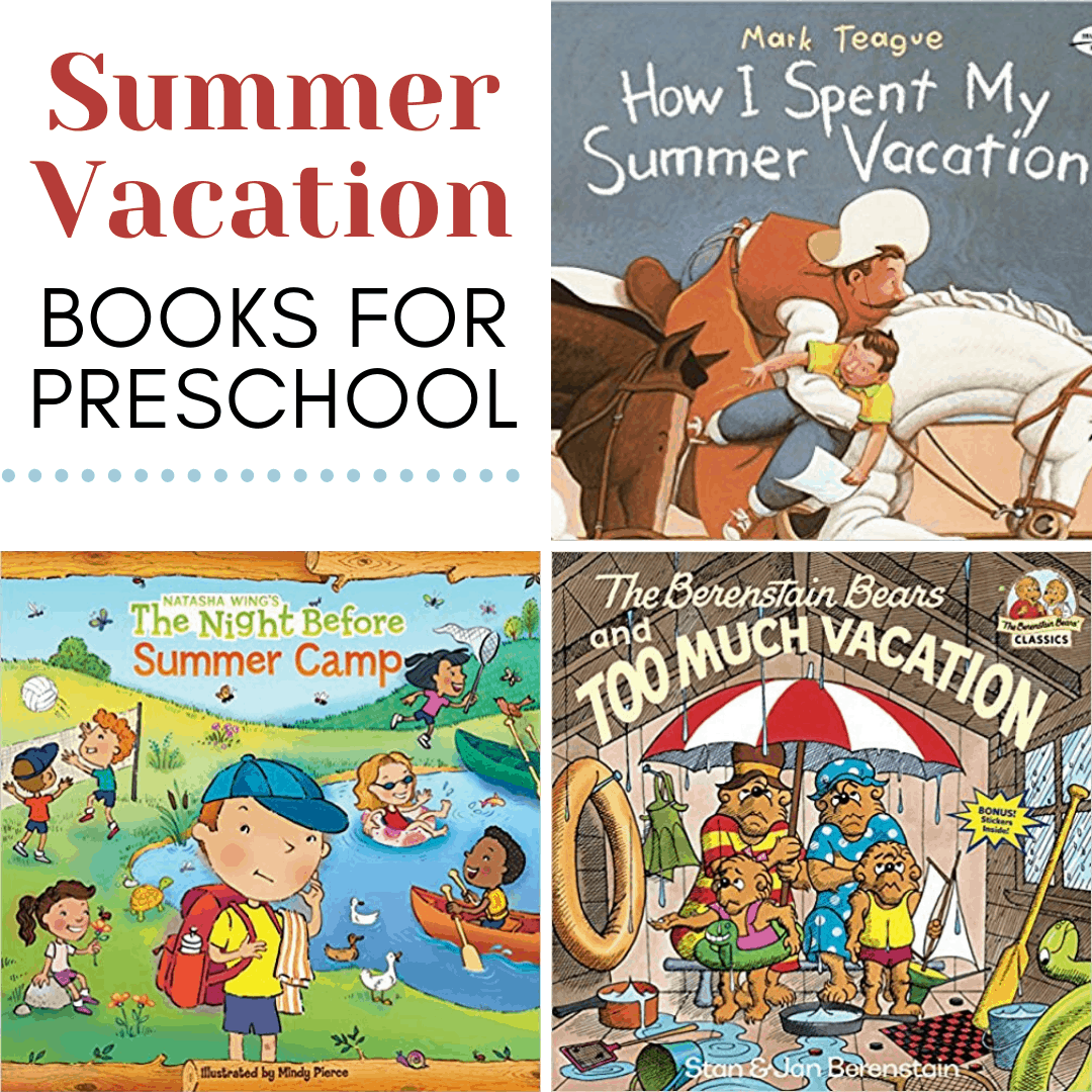 Gearing up for your summer vacation? Don't miss these summer vacation books for kids! They'll keep your kids entertained on your road trips.