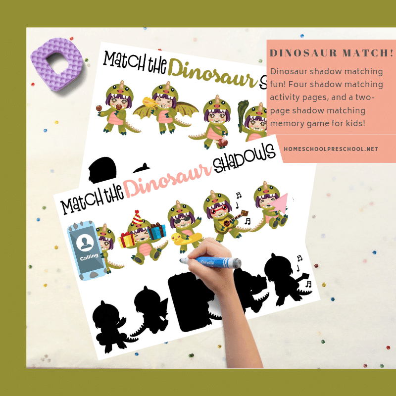 picture about Dinosaur Matching Game Printable referred to as Totally free Dinosaur Matching Match Printable