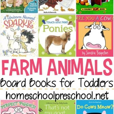 Farm Animal Books for Toddlers