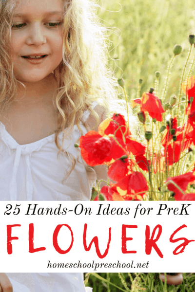 Spring and summer are the best time to pull out all your flower activities for preschoolers. Kids are going to love all of these hands-on ideas!