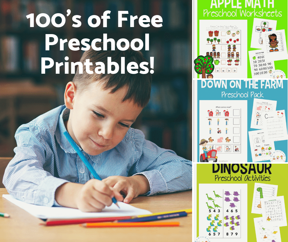 You CAN homeschool preschool on a budget! I've created more than one hundred free preschool printables for you to teach your littlest learners at home.