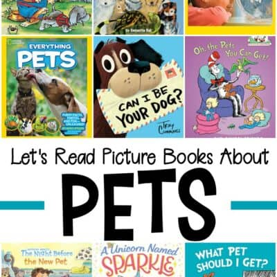 Pet Books for Preschoolers