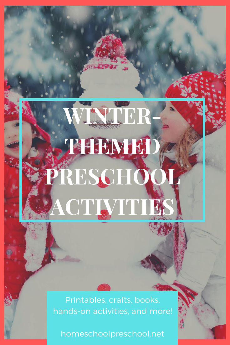 Build an awesome winter preschool theme! Find crafts, printables, book lists, activities, and more. Come discover some really fun ideas for little ones!