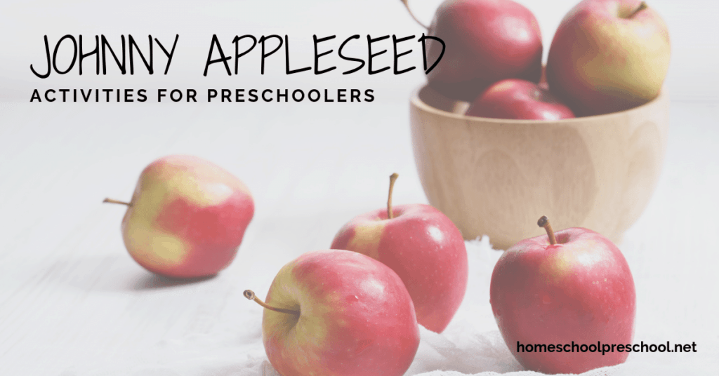 Discover some fabulous resources that will help you teach your preschoolers all about Johnny Appleseed. These Johnny Appleseed activities are perfect for kids ages 2-6!