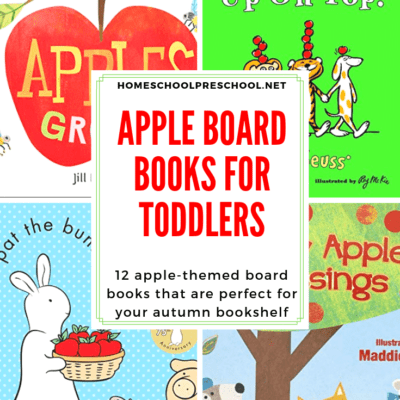 Books About Apples for Toddlers