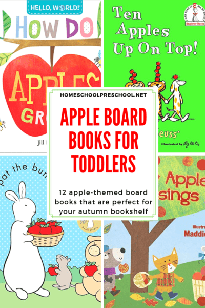 This fall, introduce your babies and toddlers to all things apple with this amazing collection of board books about apples for toddlers.