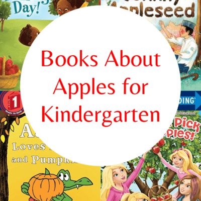 Easy Reader Books About Apples for Kindergarten