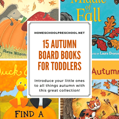 Autumn Books for Toddlers