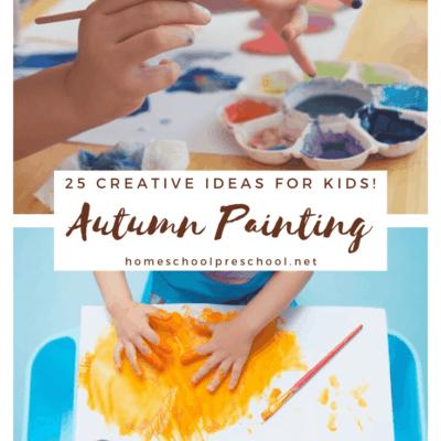Autumn Painting Activities
