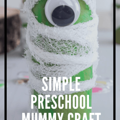 Preschool Mummy Craft