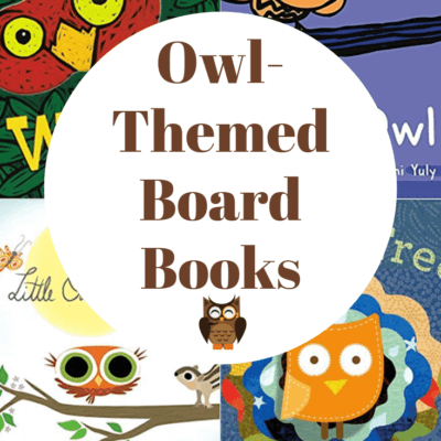 Owl Board Books for Toddlers