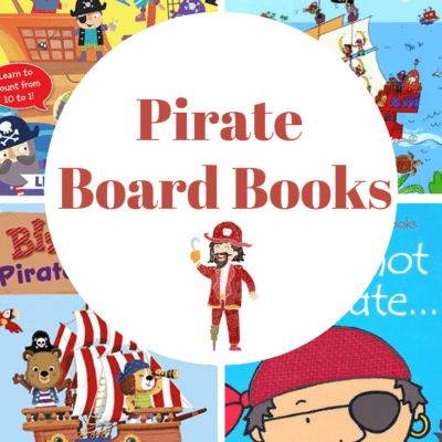 Pirate Board Books for Toddlers