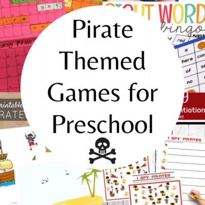 Pirate Games for Preschoolers