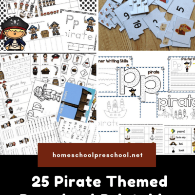Preschool Pirate Theme Printables