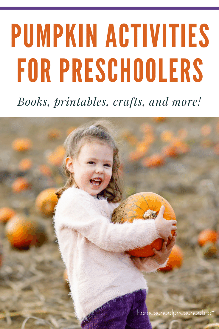 What an amazing collection ofactivities to add to your preschool pumpkin theme! Below, you'll find crafts, printables, books, and more!