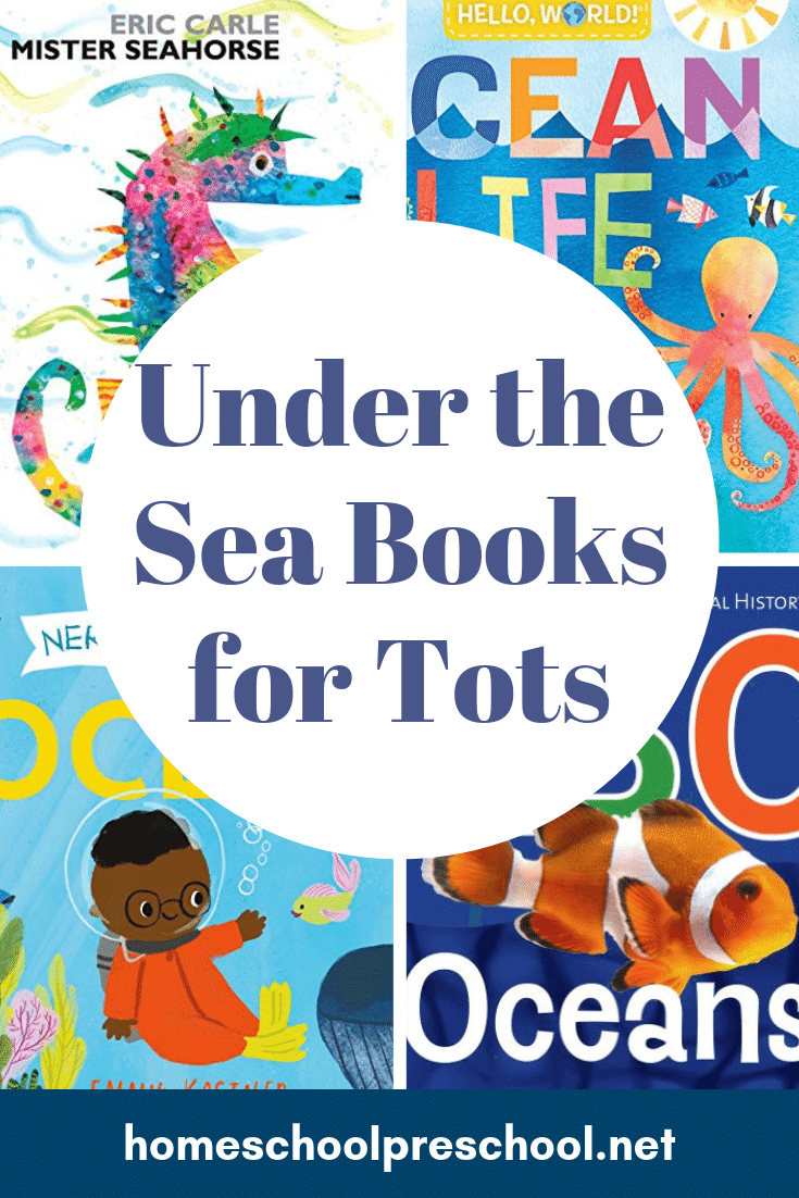 Discover the bestunder the sea books for toddlers. These ocean books are perfect for kids ages 1, 2, and 3 years old, and they're sure to become favorites!