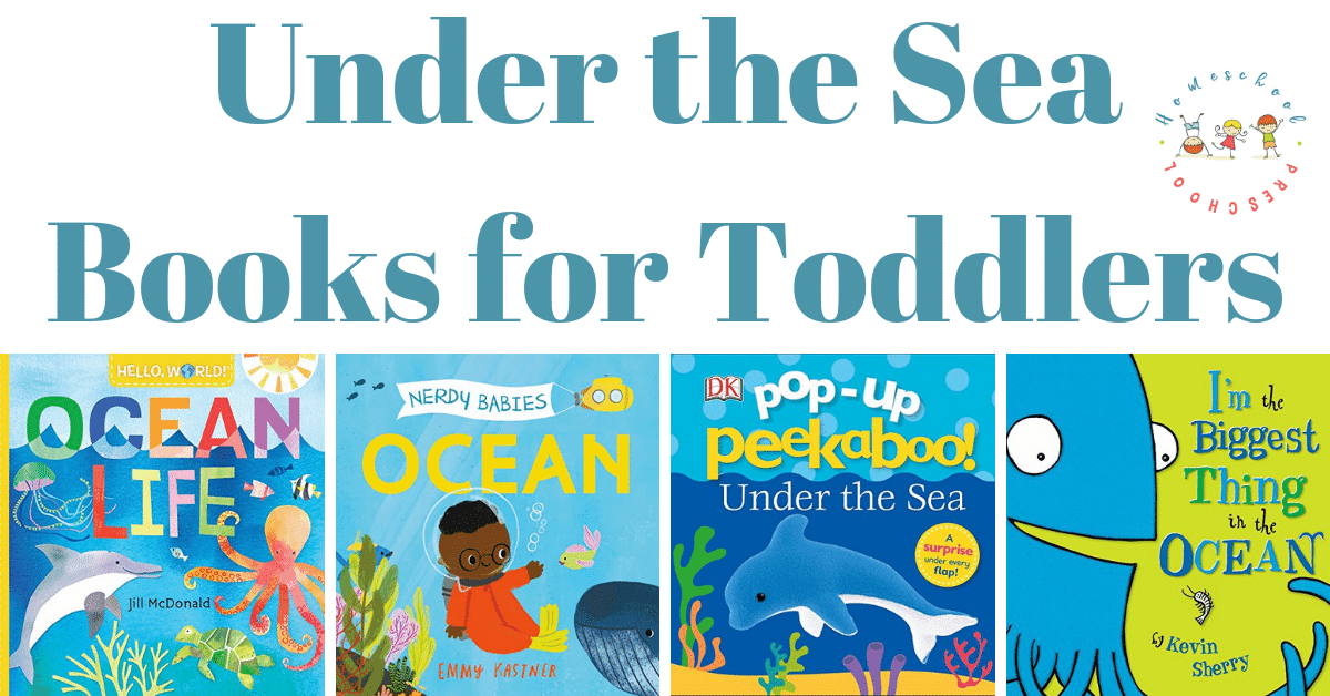 Discover the best under the sea books for toddlers. These ocean books are perfect for kids ages 1, 2, and 3 years old, and they're sure to become favorites!