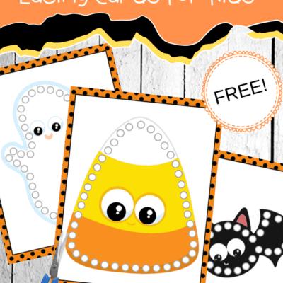 Halloween Printable Lacing Cards