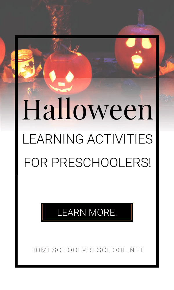 Free printables, hands-on activities, and picture books galore! All of our favorite Halloween preschool activities in one place!