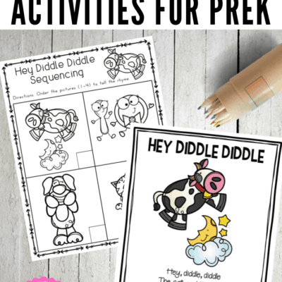 Hey Diddle Diddle Printable