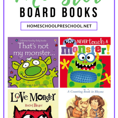 Monster Books for Toddlers