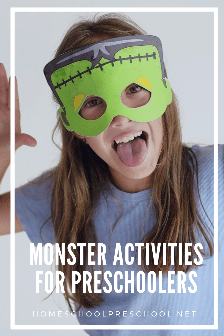 Looking for something new to do with your preschoolers? These monster activities for preschool are just what you need to engage your little ones.