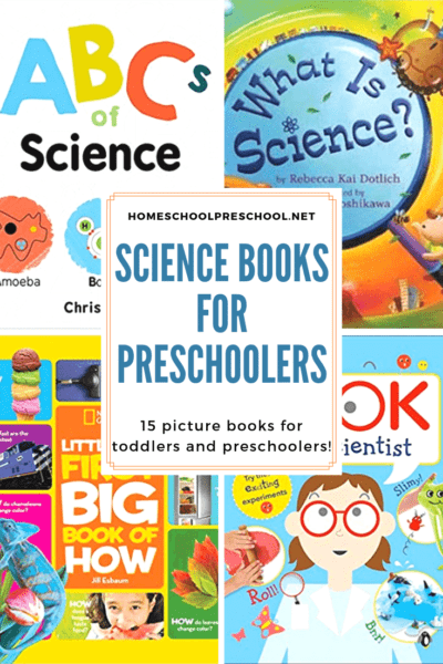 Introduce your little ones to scientific topics, the scientific method, and famous scientists with this collection of science books for preschoolers.
