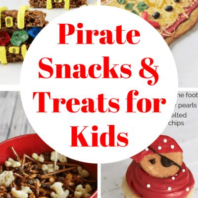Pirate Themed Snacks for Preschool