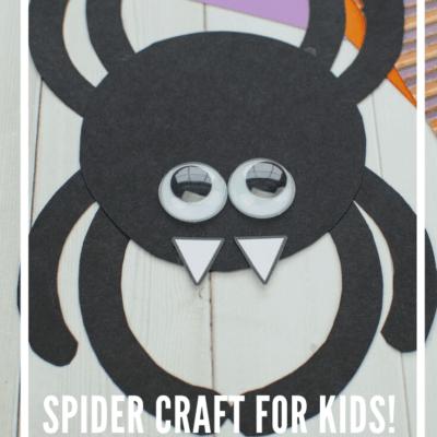 Preschool Spider Craft