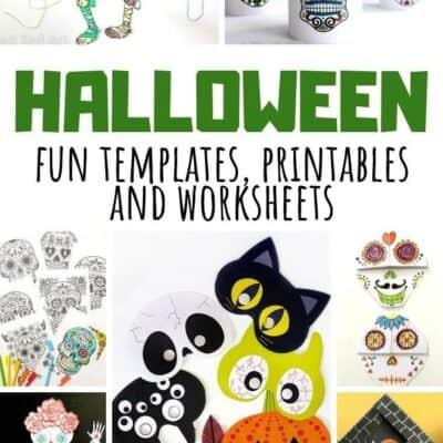 Printable Halloween Activities for Kids