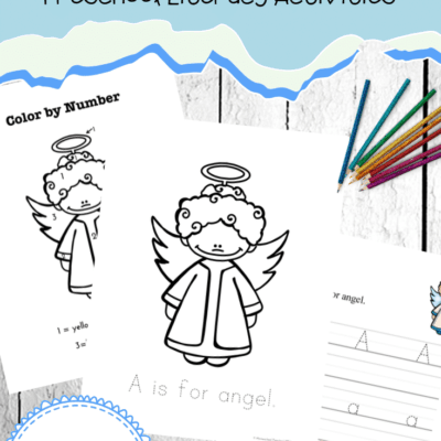 A is for Angel Printables