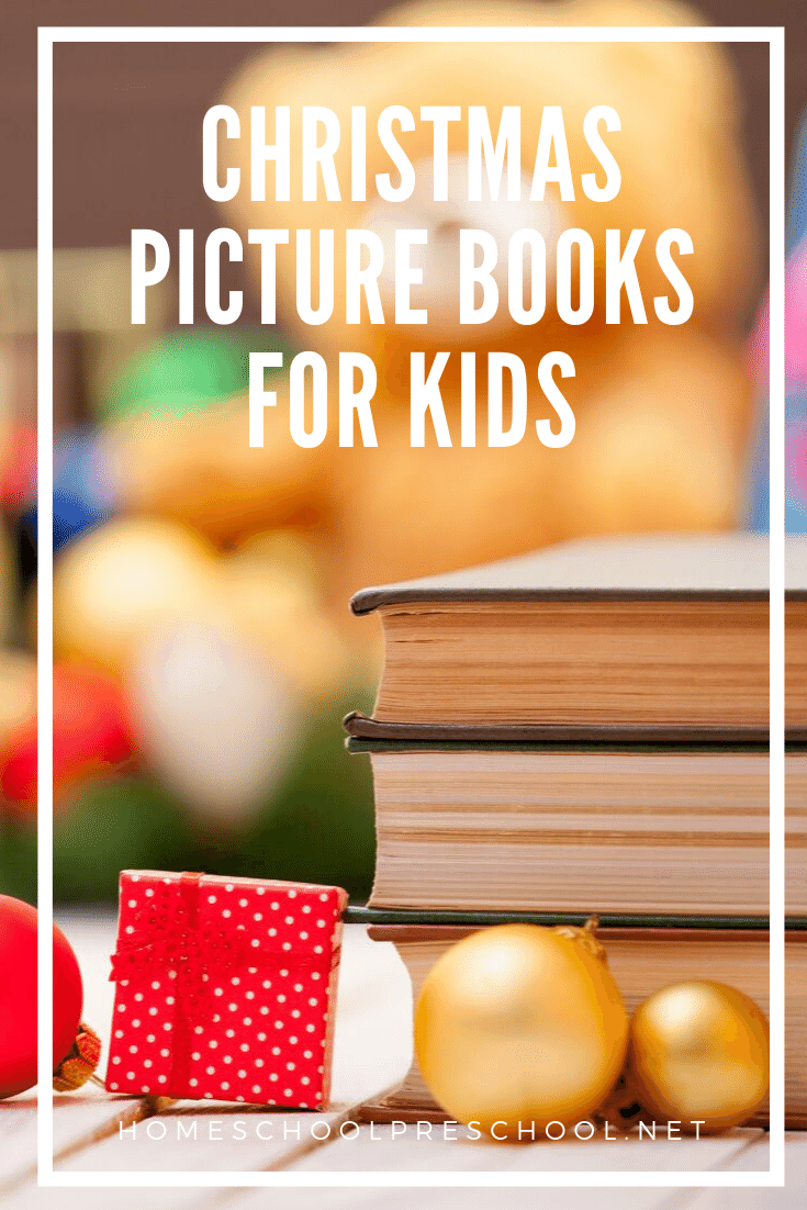 This December, fill your shelves with an amazing collection of Christmas books for preschoolers. These picture books are a great place to start!