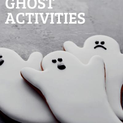 Ghost Activities for Preschool
