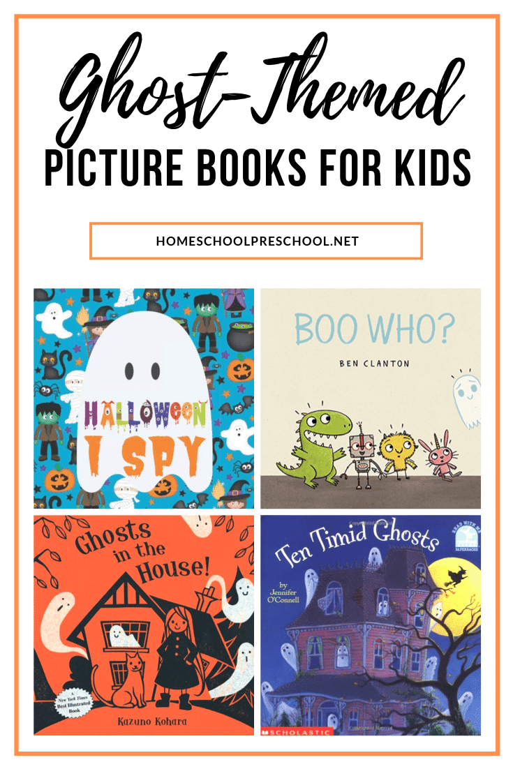 Halloween is just around the corner! It's the perfect time to curl up with one of our favorite picture ghost picture books for preschoolers.