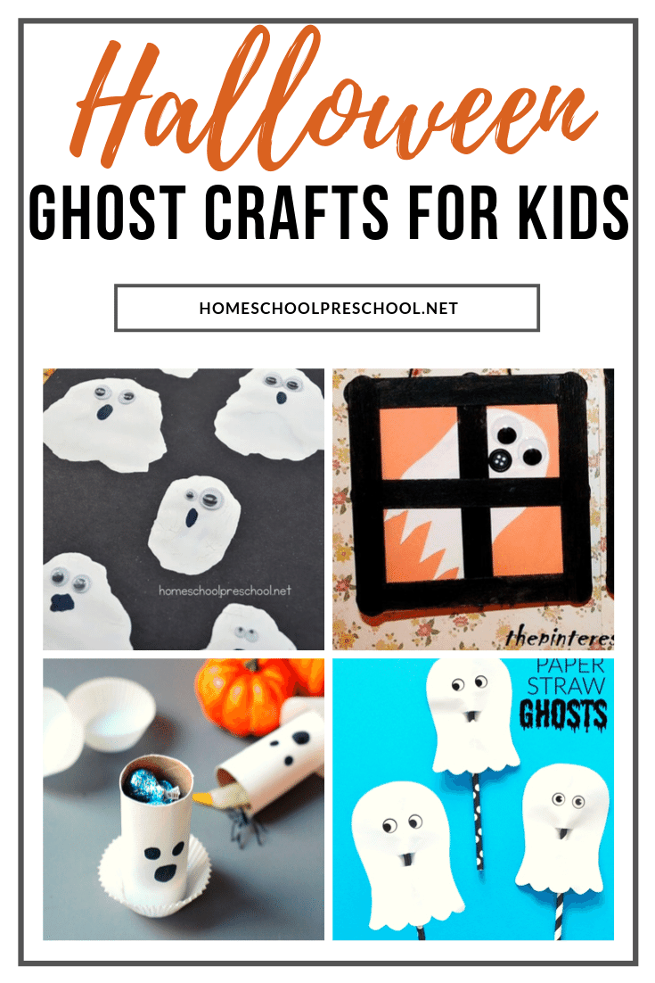 This Halloween, let your preschoolers choose one or more of these preschool ghost crafts to make. They'll love putting them on display.