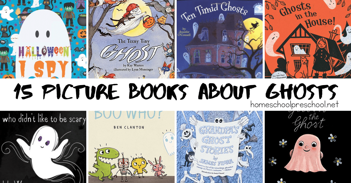 Halloween is just around the corner! It's the perfect time to curl up with one of our favorite picture ghost picture booksfor preschoolers.