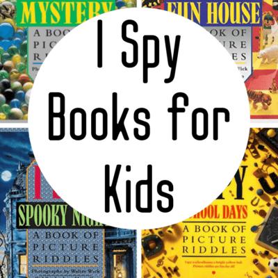 I Spy Preschool Books
