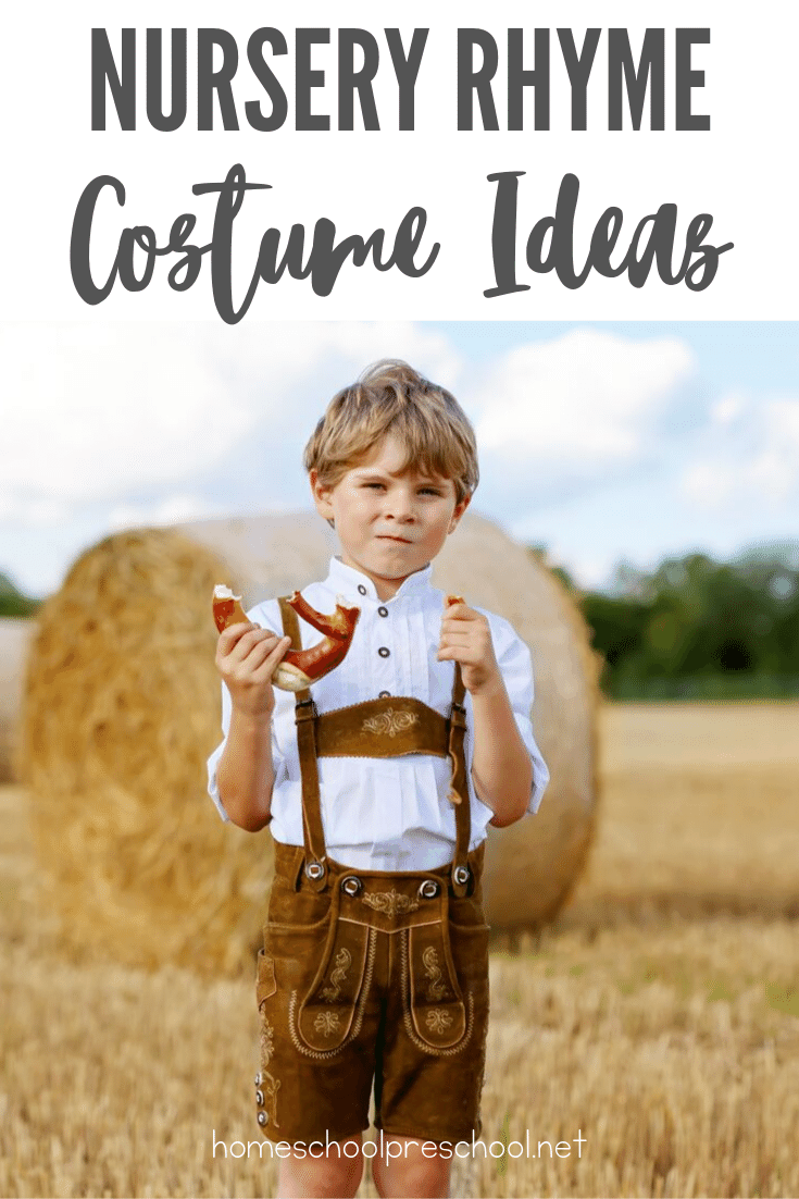 21 of Our Favorite Nursery Rhyme Costumes for Kids