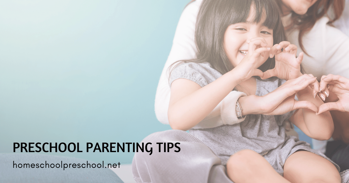 Parenting isn't for the faint of heart. Some days make you wonder if you'll all make it to bedtime! These preschool parenting tips will help!