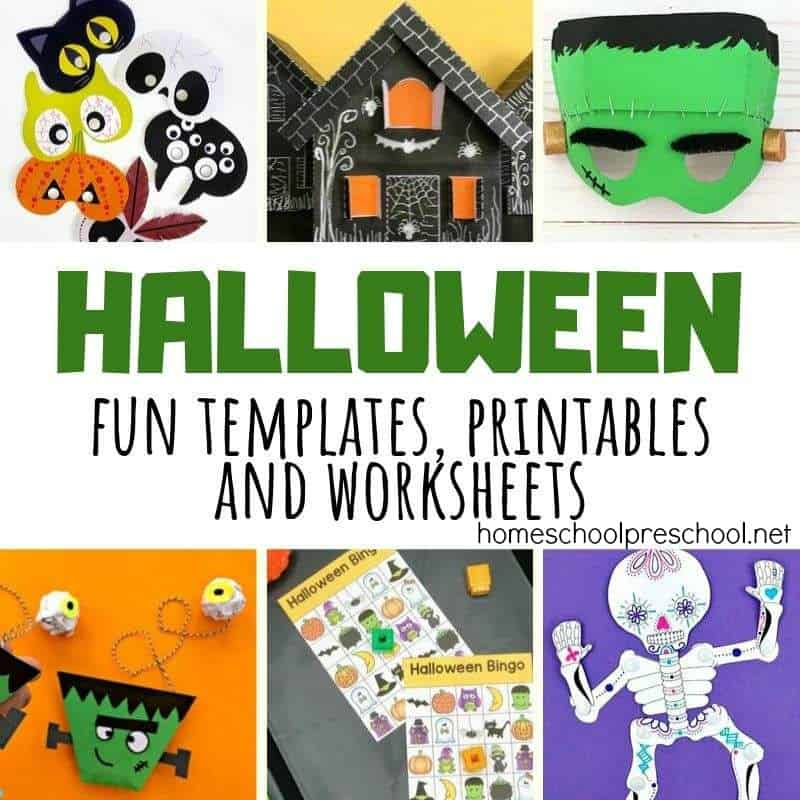 Take the guess work out of your Halloween celebrations with these printable Halloween activities for kids. Fun decorations, games, and more!