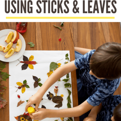 Crafts with Leaves and Sticks