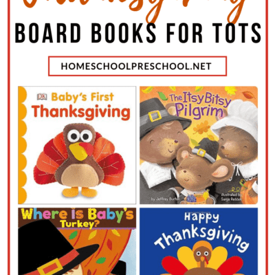 Thanksgiving Board Books for Toddlers