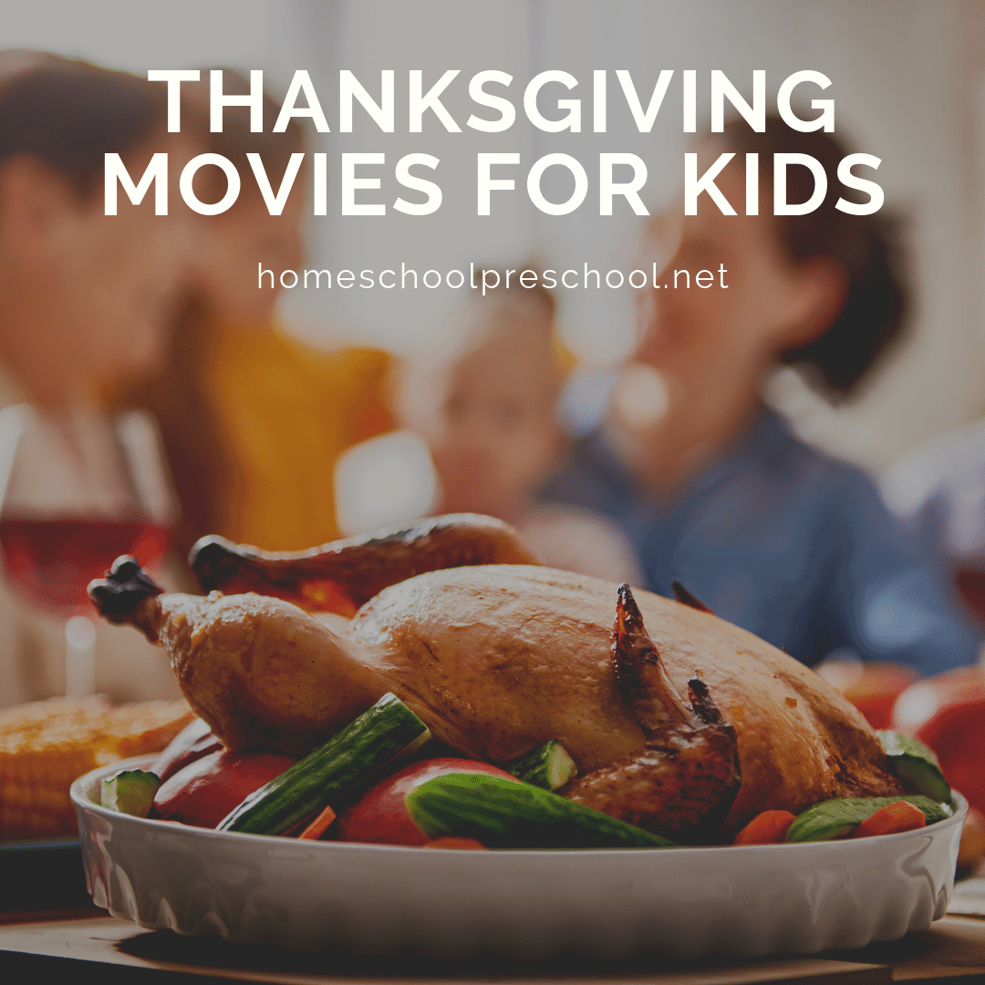 These family-friendly Thanksgiving movies are perfect for kids of all ages! Kids will love seeing how their favorite characters celebrate Thanksgiving.