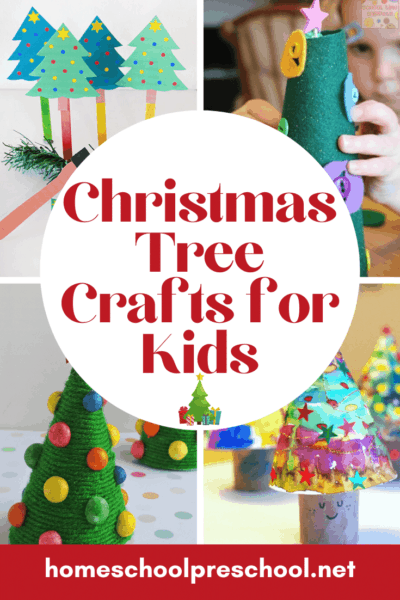 Some of our favorite Christmas tree crafts for kids! Jump-start your child's creativity with these fun ideas for your Christmas crafting sessions.