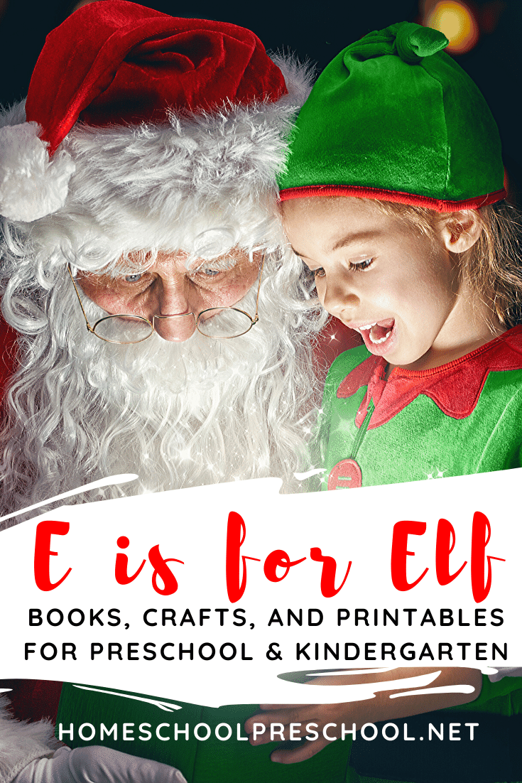 Excellent elf activities for preschoolers! Find crafts, printables, book lists, and more. Come on over to discover them all!